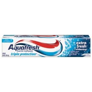 AQUAFRESH EXTRA FRESH FLUORIDE TUBE TOOTHPASTE 6.4OZ