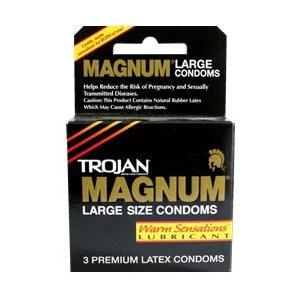 Trojan Magnum Warm Sensation 3Pk