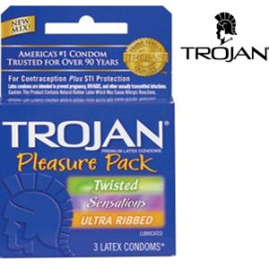TROJAN 3'S PLEASURE PACK