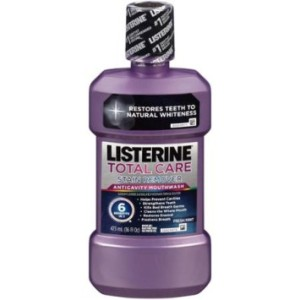 LISTERINE TOTAL CARE PLUS WHITENING 250ML/8OZ