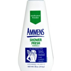 AMMENS MEDICATED POWDER 11OZ SHOWER FRESH FORMULA