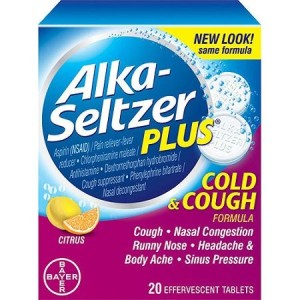 ALKA-SELTZER COLD & COUGH 20'S