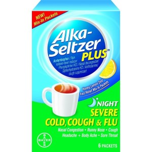 ALKA-SELTZER PLUS SEV/COLD/COUGH & FLU NIGHT
