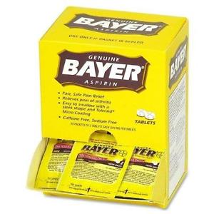 BAYER 50X2'S POUCH