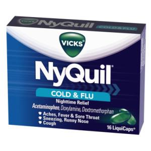 NYQUIL COLD & FLU 16'S/LIQ/CAPS
